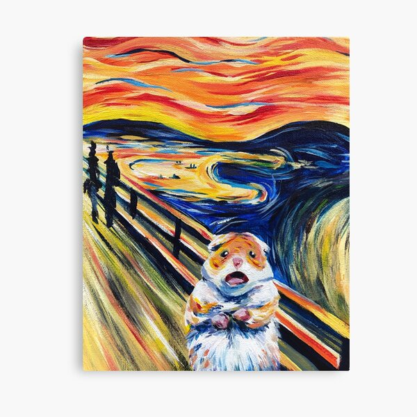 The Screaming Hamster Canvas Print