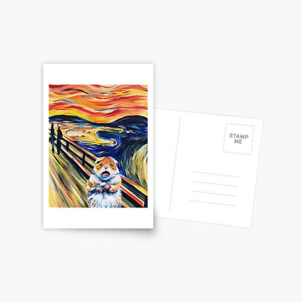 The Screaming Hamster Postcard