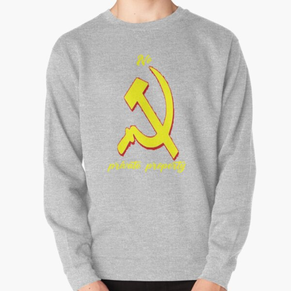 Hippity Hoppity Abolish Private property Pullover Sweatshirt