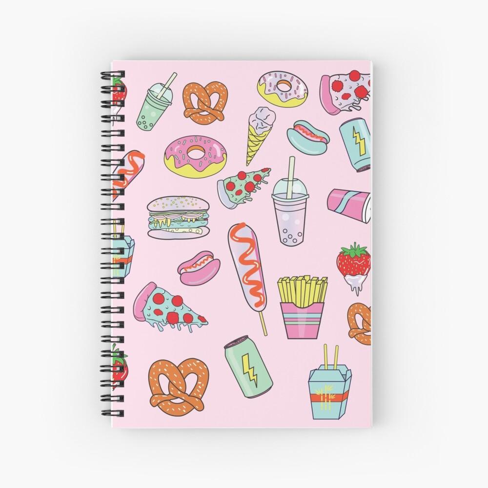 Dreaming Of Junk Food Spiral Notebook