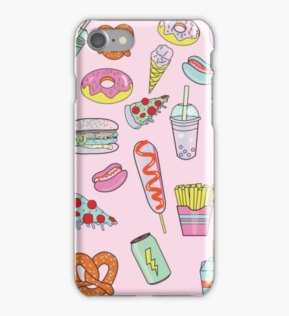 Dreaming Of Junk Food iPhone Case/Skin