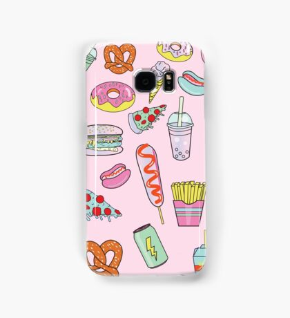 Dreaming Of Junk Food Samsung Galaxy Case/Skin