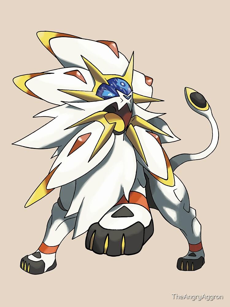 Solgaleo - Pokemon Sun by TheAngryAggron