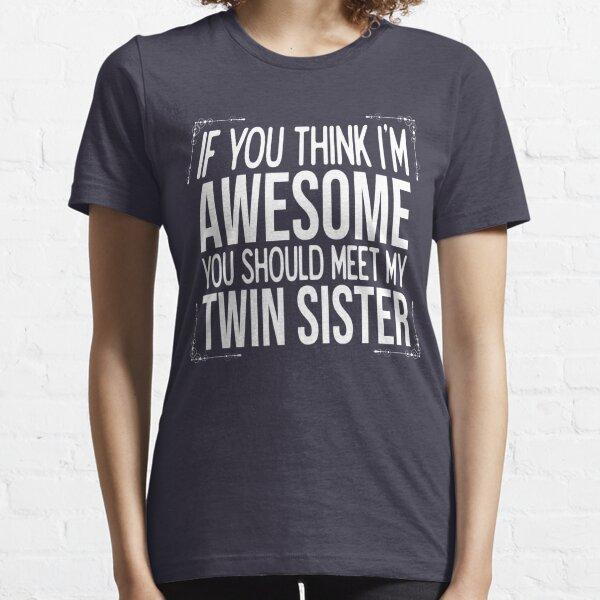 Zwillingsschwestern Stiefbruder