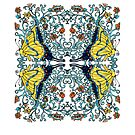 Butterflies in Vines and Flowers by JanDeA