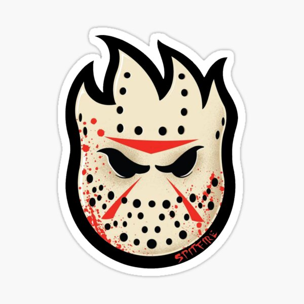 Jason Spitfire Halloween Sticker