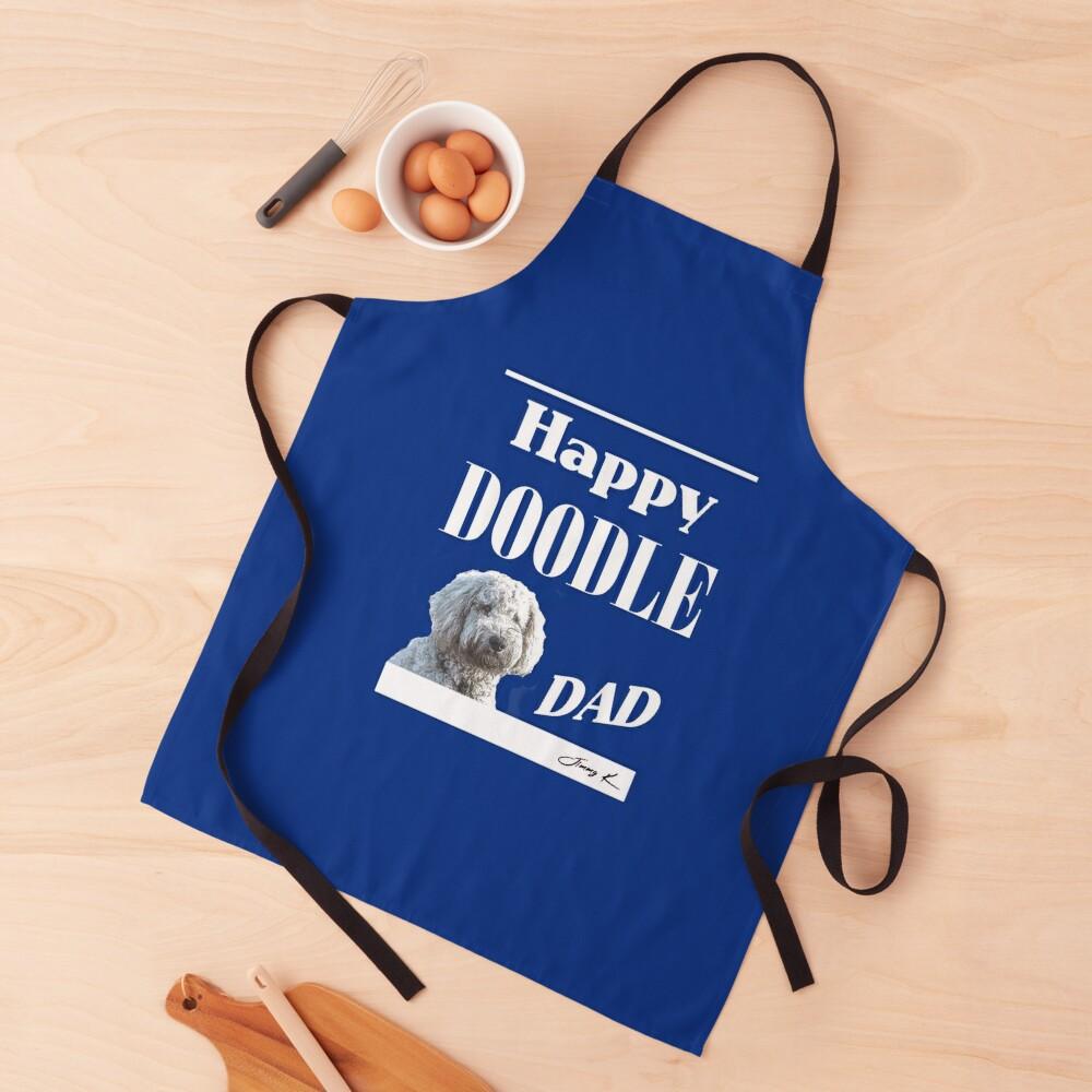Happy Doodle Dad Apron