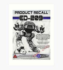 ED209  Art Print