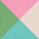 four triangles - joyful by beverlylefevre