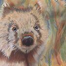 Wally Wombat by Kellea Croft