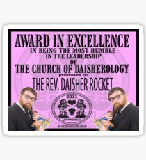 An Award in Goodness  Sticker
