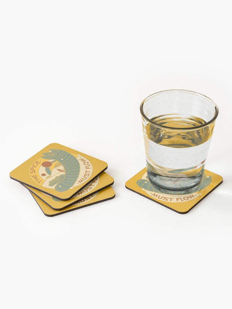 Alternate view of The Spice Must Flow Coasters (Set of 4)