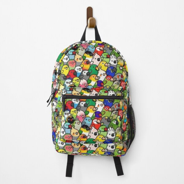 Everybirdy Pattern Backpack