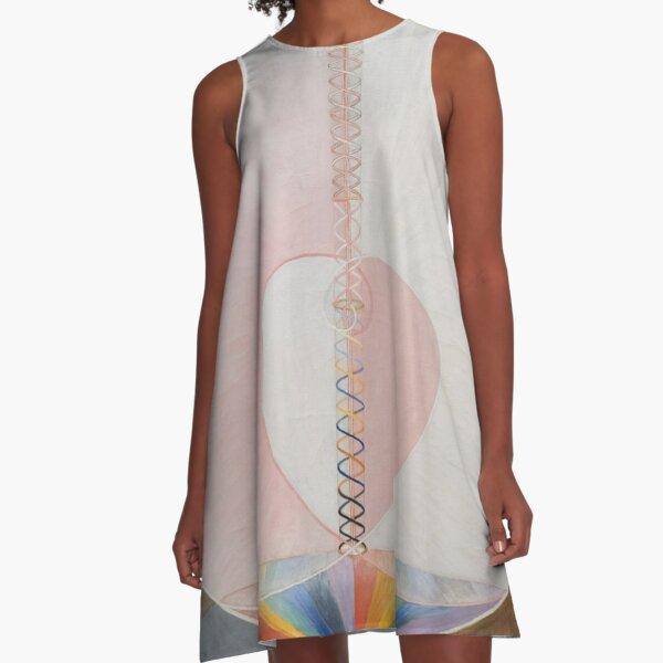 Group IXUW, No. 25, The Dove, No. 1, 1915 A-Line Dress