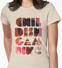 childish gambino Women's Fitted T-Shirt