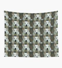 Look Into My Baby Blues!!! - Siberian Husky - NZ Wall Tapestry