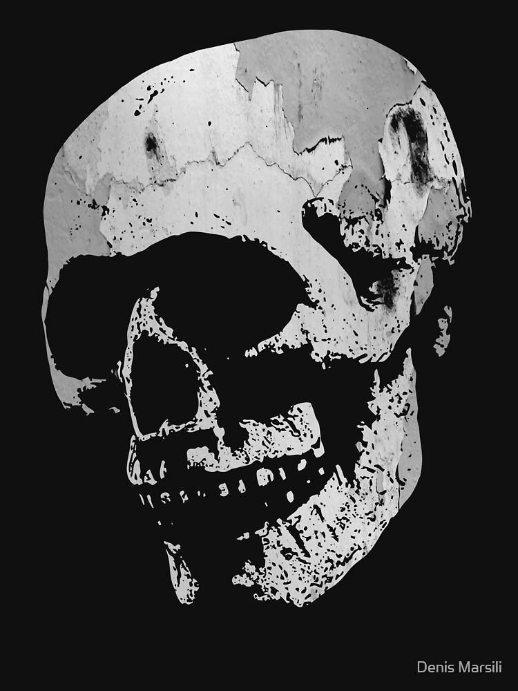 Skull - Cool Grunge Texture Skull by ddtk