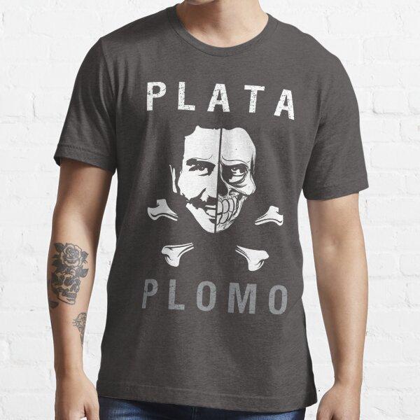 PLATA O PLOMO Camiseta esencial