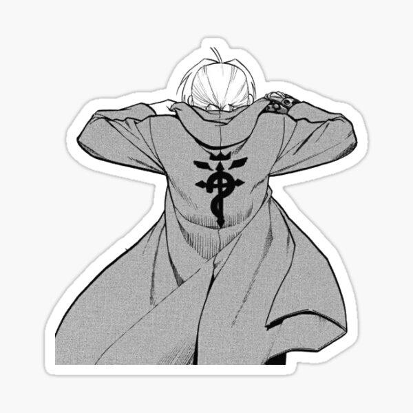 Alchemist's cloak Sticker