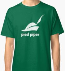 Pied Piper 3.0 Logo - Silicon Valley - New Logo - Season 3 Classic T-Shirt