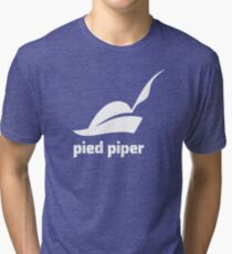 Pied Piper 3.0 Logo - Silicon Valley - New Logo - Season 3 Tri-blend T-Shirt