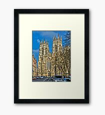 York Minster, England (HDR) Framed Print