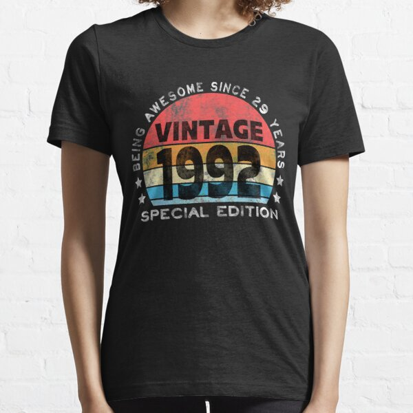 29th Birthday 1992 Awesome Vintage Special Edition Essential T-Shirt