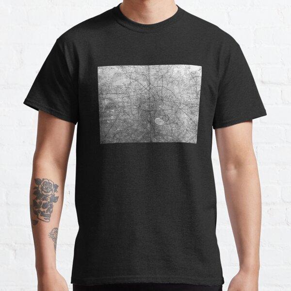 Berlin Map by Emiliano Vittoriosi Classic T-Shirt