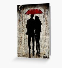 some rainy day Greeting Card