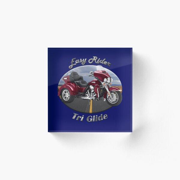 Harley Davidson Tri Glide Easy Rider Acrylic Block