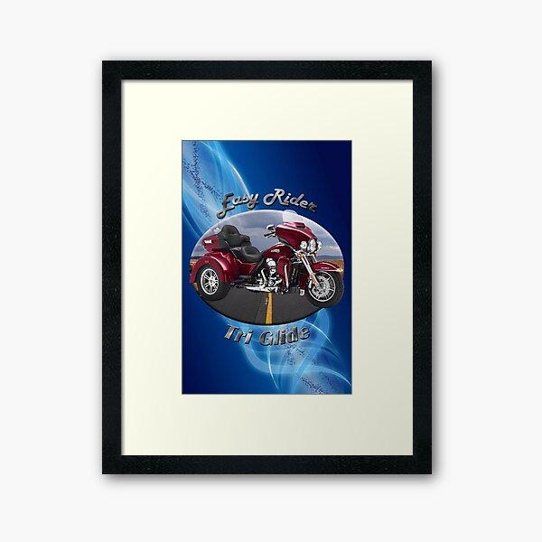Harley Davidson Tri Glide Easy Rider Framed Art Print