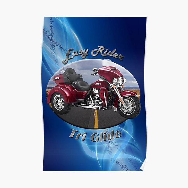 Harley Davidson Tri Glide Easy Rider Poster