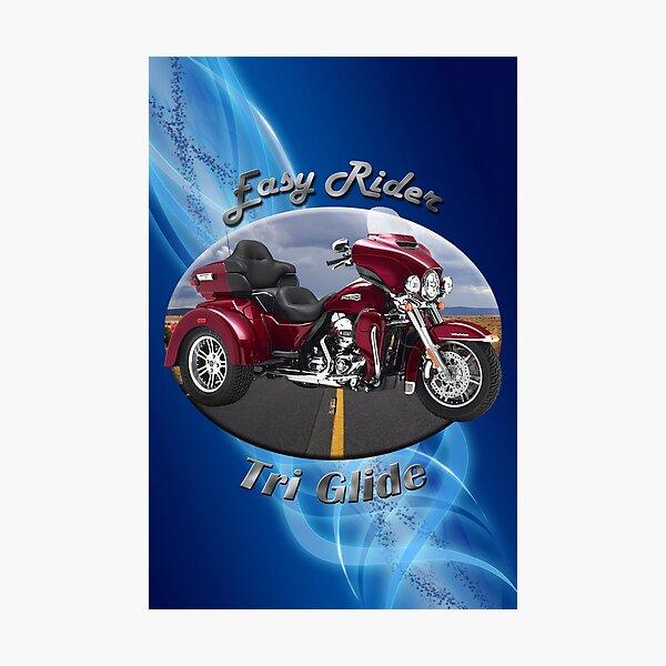 Harley Davidson Tri Glide Easy Rider Photographic Print