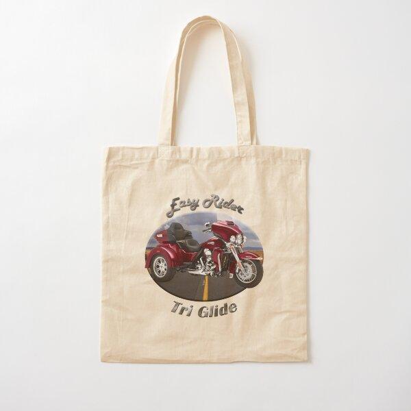Harley Davidson Tri Glide Easy Rider Cotton Tote Bag