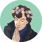 FlowerCrownSherlock by ivorylungs