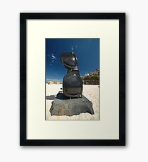 Sunglasses @ Sculptures By The Sea 2010 Framed Print