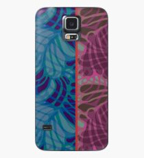 Blue and Purple Abstract Print Duvet Cover Case/Skin for Samsung Galaxy