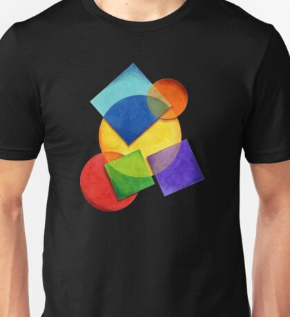Candy Rainbow Geometric T-Shirt