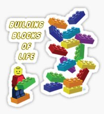 Building Blocks of Life - Legos Sticker