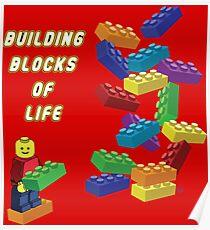 Building Blocks of Life - Legos Poster