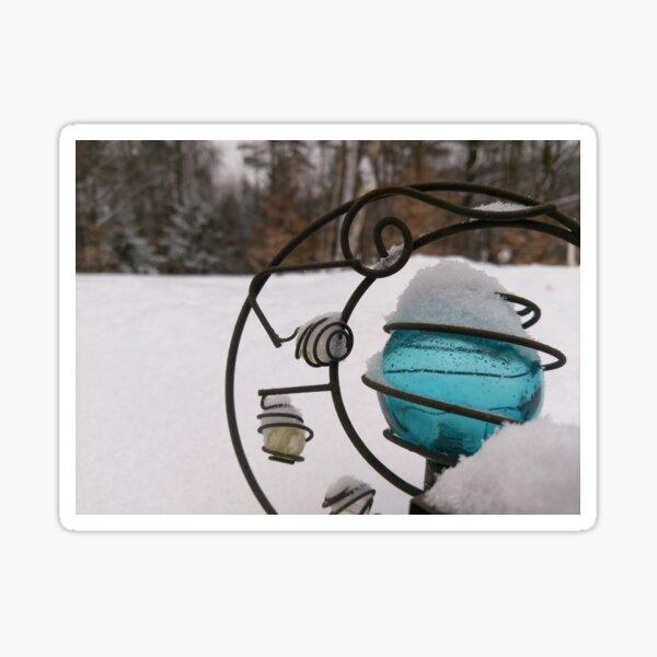 Blue Ice Orb Sticker
