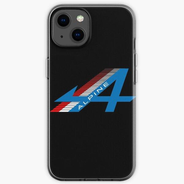 Diseño Alpine F1 Funda blanda para iPhone