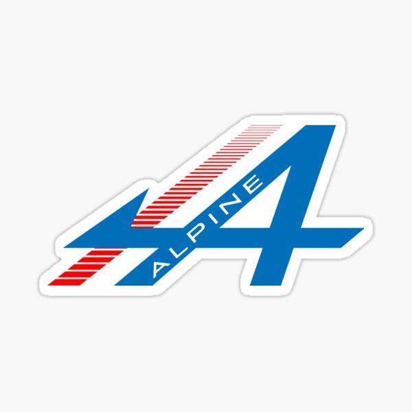 Conception Alpine F1 Sticker