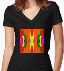 Seaside Rendez-vous Women's Fitted V-Neck T-Shirt