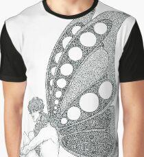 Butterfly Sherlock Graphic T-Shirt