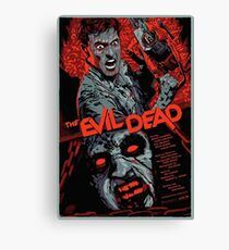 evil dead art #1 Canvas Print