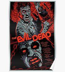 evil dead art #1 Poster