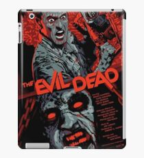 evil dead art #1 iPad Case/Skin