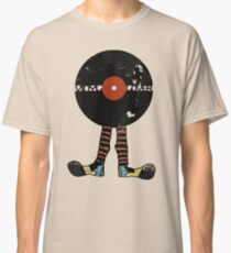 Funny Vinyl Records Lover - Grunge Vinyl Record Classic T-Shirt