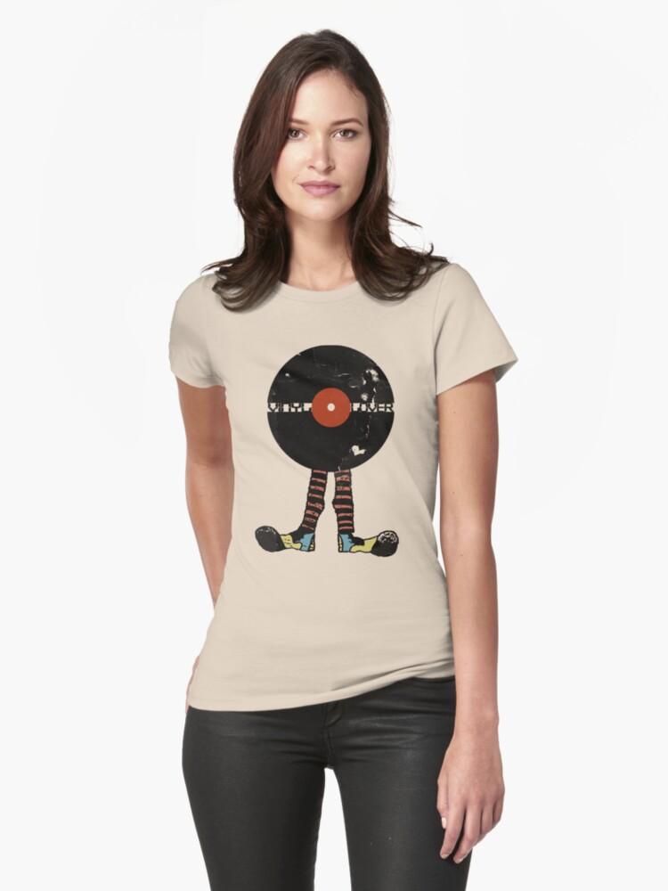 Funny Vinyl Records Lover - Grunge Vinyl Record by Denis Marsili